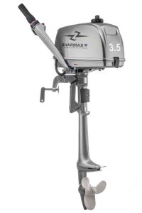 Лодочный мотор Шармакс (Sharmax) SM3.5HS (3,5 л.с., 2 такта)