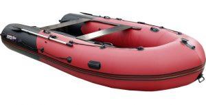 Лодка ПВХ Хантер 380 ПРО надувная под мотор